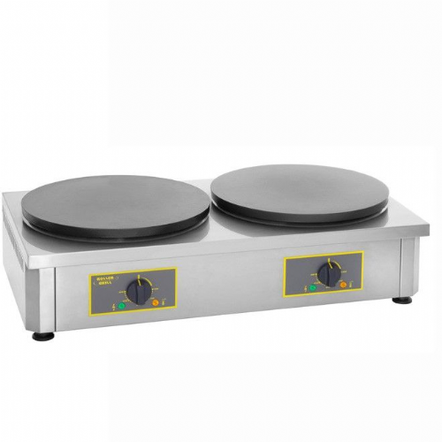 Roller Grill 400CDE Double Crepe Griddle Crepe Machines